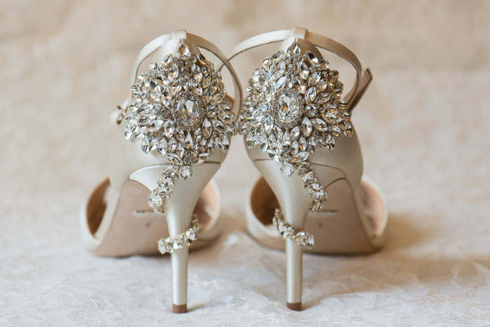 Wedding Shoes | Sabrina Hall Photography | As seen on TodaysBride.com