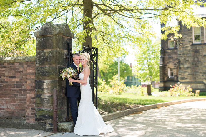 Bride and Groom | Sabrina Hall Photography | As seen on TodaysBride.com