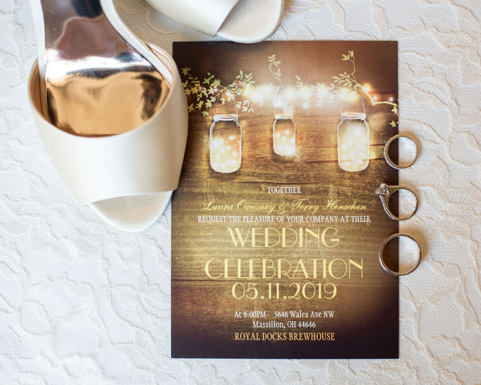 Invitations | Sabrina Hall Photography | As seen on TodaysBride.com