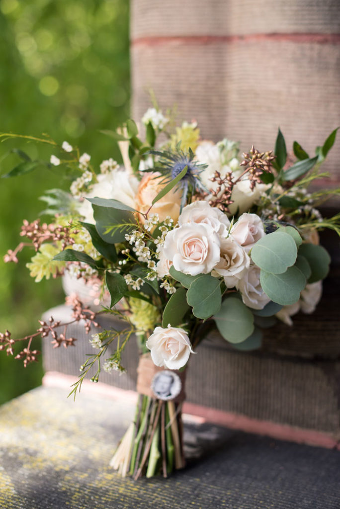 Bridal Bouquet | Sabrina Hall Photography | As seen on TodaysBride.com