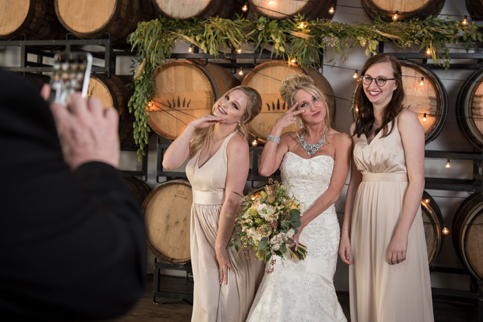 Bride and Bridesmaids | Sabrina Hall Photography | As seen on TodaysBride.com