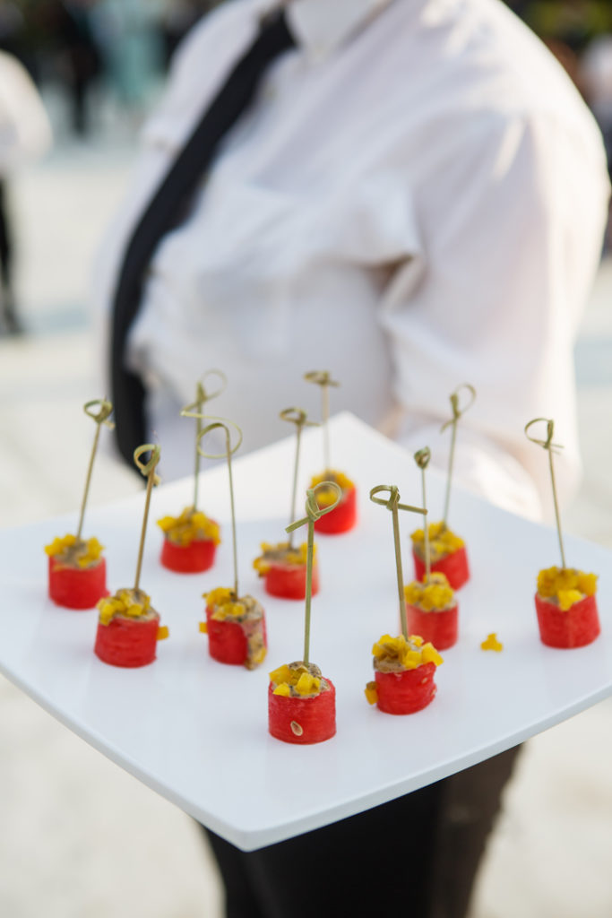 Hors d'oeuvres | Genevieve Nisly Photography | As seen on TodaysBride.com