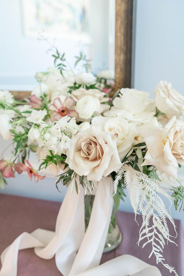 Winter Wedding Bouquet | Danielle Harris Photography | As seen on TodaysBride.com