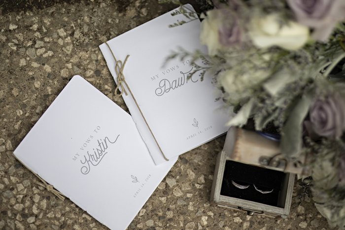 Vow Booklets | B Frohman Imaging & Design | As seen on TodaysBride.com