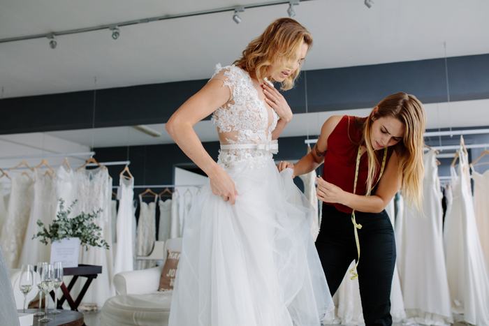 Wedding Dress Alterations | As seen on TodaysBride.com