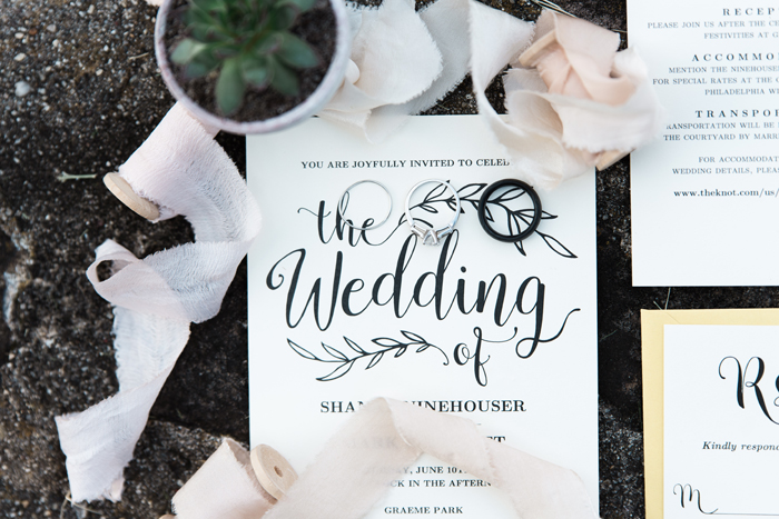 Invitation | Britani Edwards Photography | As seen on TodaysBride.com