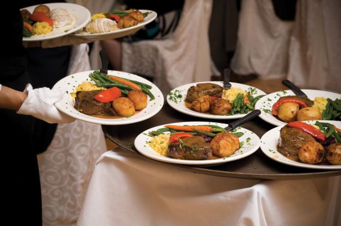 Wedding Dinner | As seen on TodaysBride.com