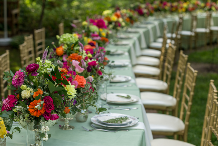 Wedding Reception Tables | OH Snap! Photography | As seen on todaysbride.com
