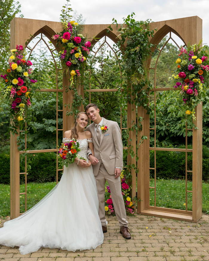 Smiling Bride and Groom | OH Snap! Photography | As seen on TodaysBride.com