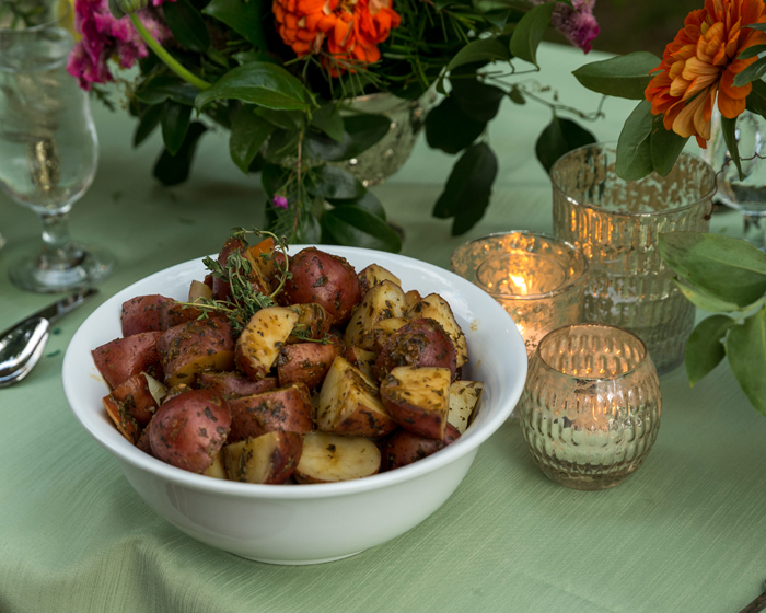 Red Skin Potatoes | OH Snap! Photography | As seen on TodaysBride.com