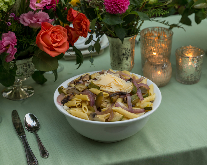 Pasta Dish | OH Snap! Photography | As seen on TodaysBride.com