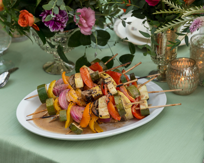 Kabobs | OH Snap! Photography | as seen on TodaysBride.com