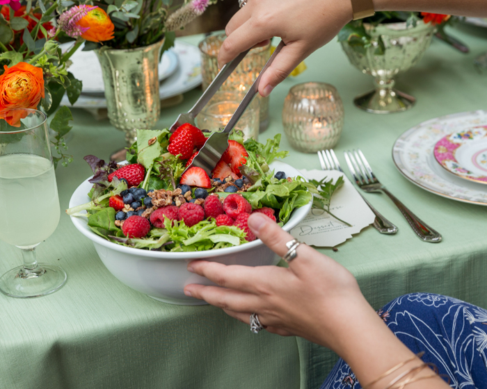 Salad | OH Snap! Photography | As seen on TodaysBride.com