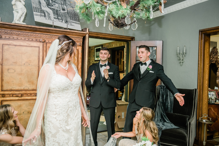 Brother First Look | Balsam and Blush Photography | As seen on TodaysBride.com