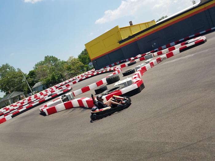 Go Kart | High Voltage Indoor Karting | As seen on TodaysBride.com