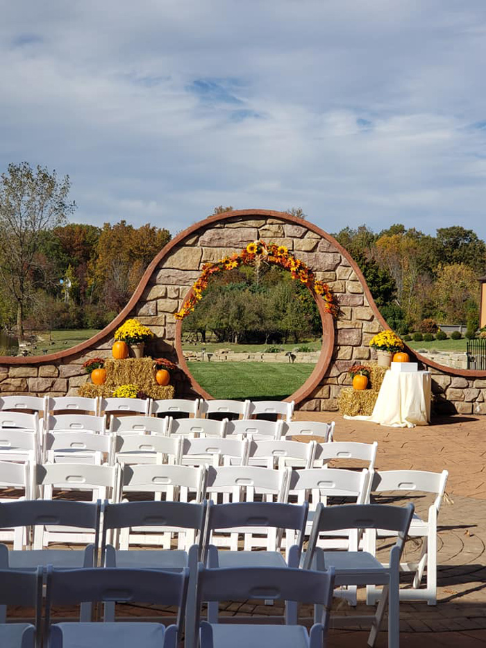 Wedding Ceremony | Williams on the Lake | As seen on TodaysBride.com