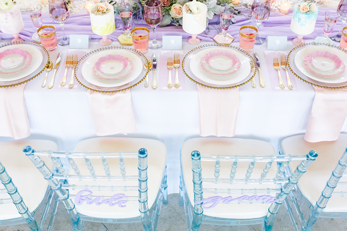 Pastel Wedding Table | The Cannons Photography | As seen on TodaysBRide.com