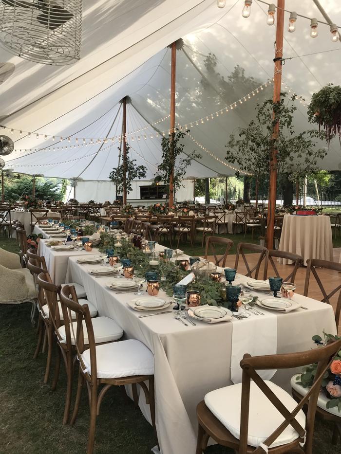 Tent Wedding | Always Eventful | As seen on TodaysBride.com