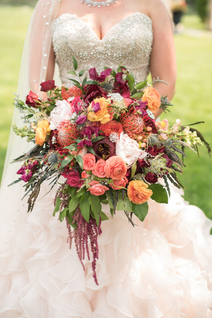 Bride Bouquet | Sabrina Hall Photography | As seen on TodaysBride.com