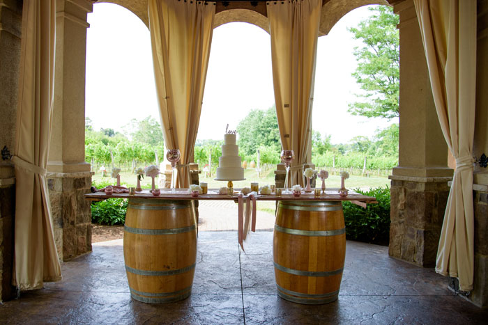 Wine Wedding Decor | Sabrina Hall Photography | As seen on TodaysBride.com