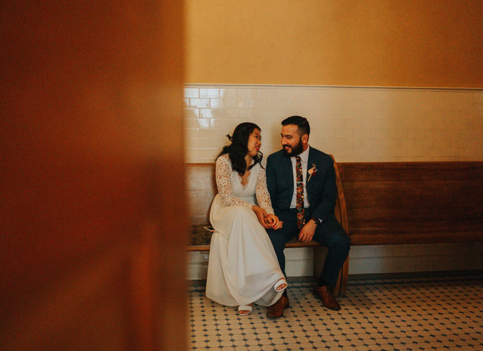 Courthouse Wedding | As seen on TodaysBride.com