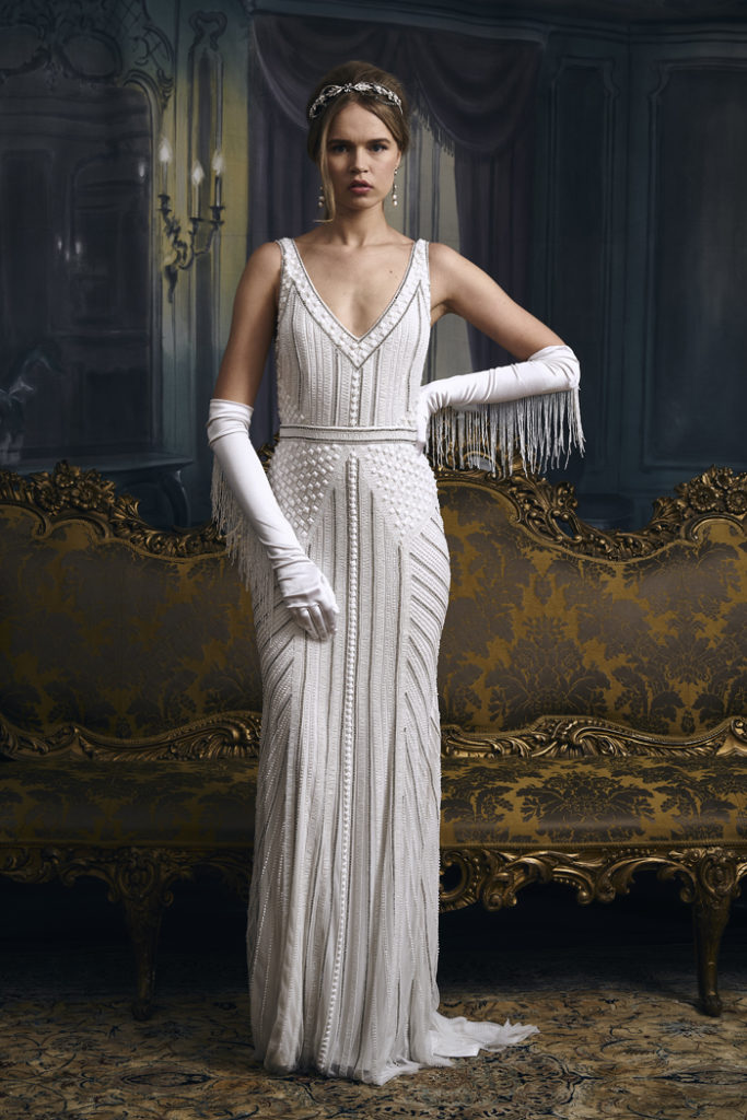 1920s Wedding Dress | Eliza Jane Howell | As seen on TodaysBride.com