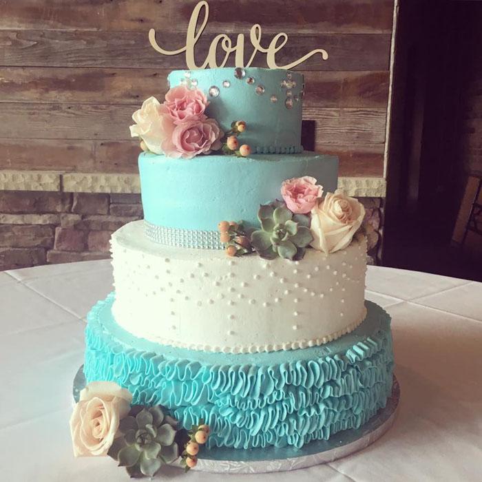 Wedding Cake | Honey Bee Bakery | As seen on TodaysBride.com