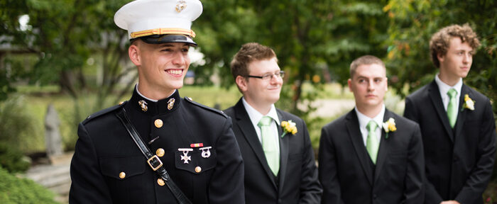 How to Plan a Military Wedding