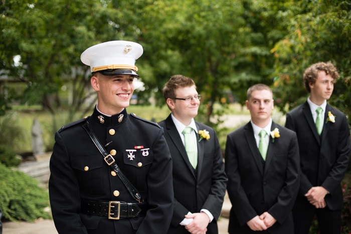 Military Wedding | Black Dog Photo Co. | As seen on TodaysBride.com