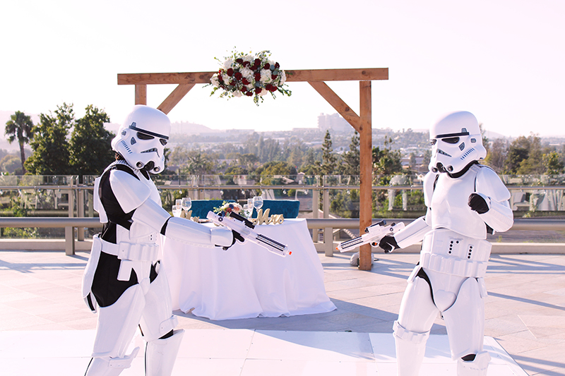 Stormtroopers | Stephany Perea | As seen on TodaysBride.com