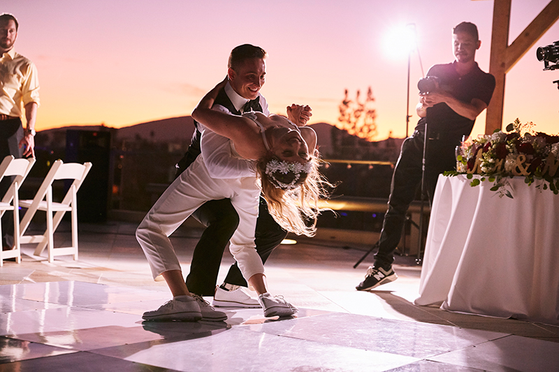 Bride and Groom Dancing | Stephany Perea | As seen on TodaysBride.com