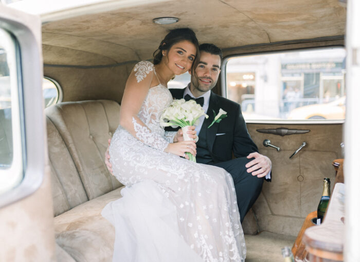 Couple in Car | Annie Wu Photography | as seen on TodaysBride.com