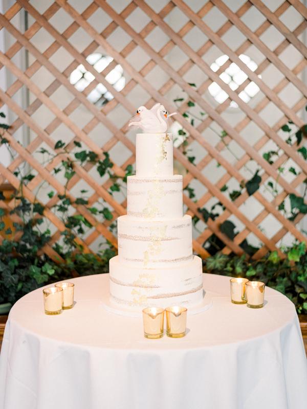 Irish Wedding Cake | Annie Wu Photography | as seen on TodaysBride.com