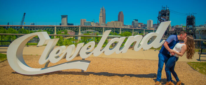 Iconic Cleveland Engagement Photo Spots | Mackenzie & Corey