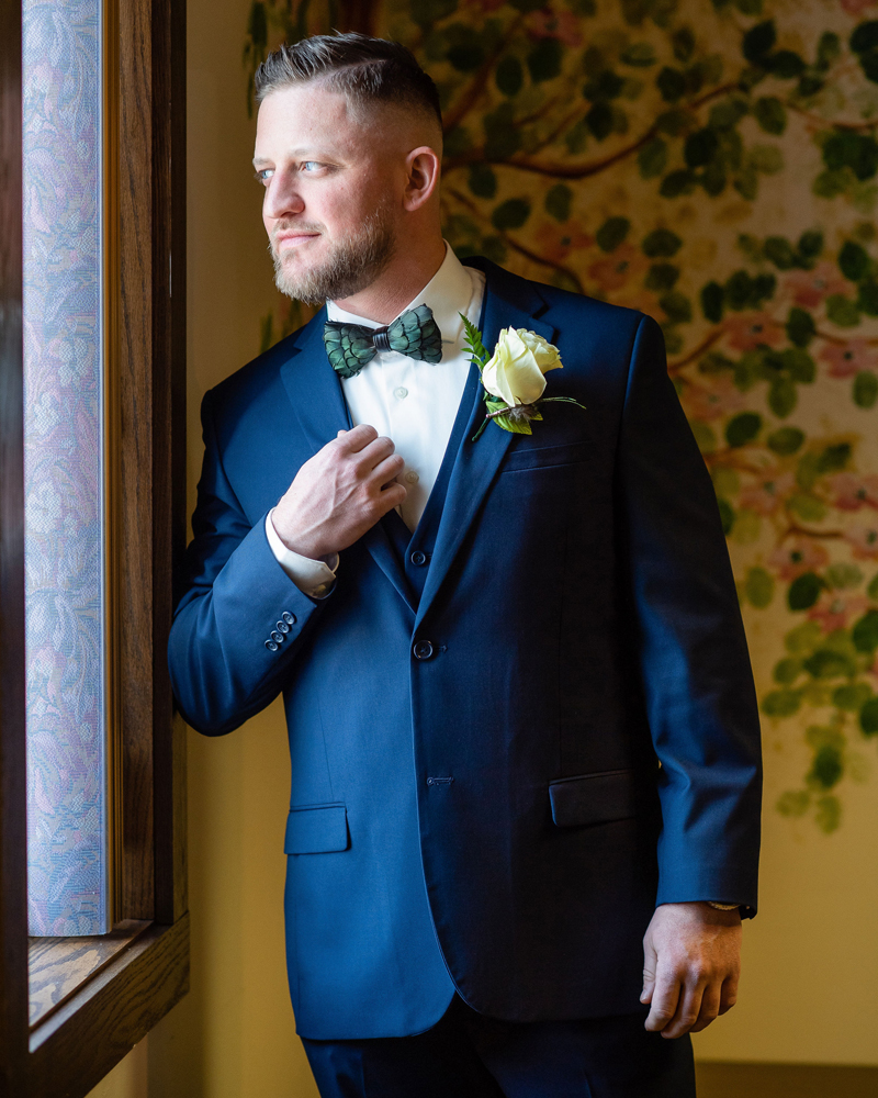 Groom Getting Ready | Klodt Photography | as seen on TodaysBride.com