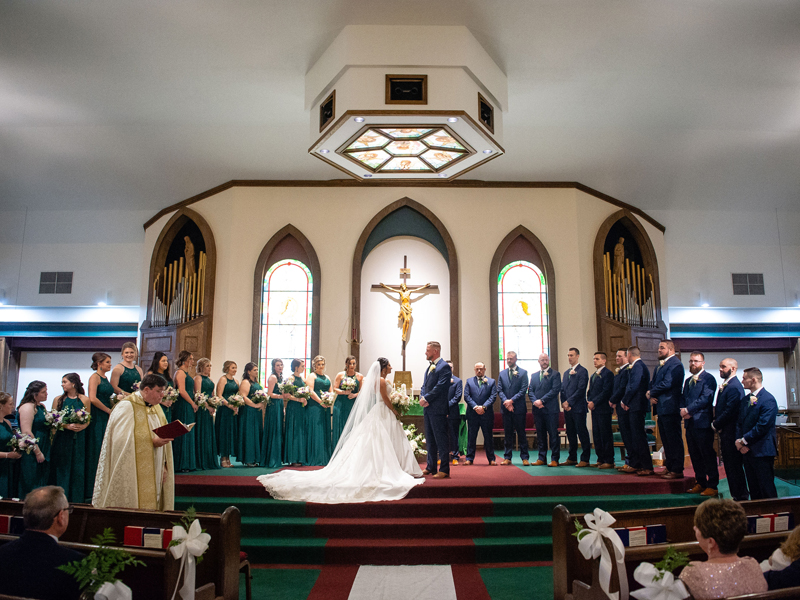 Full Wedding Party | Klodt Photography | as seen on TodaysBride.com