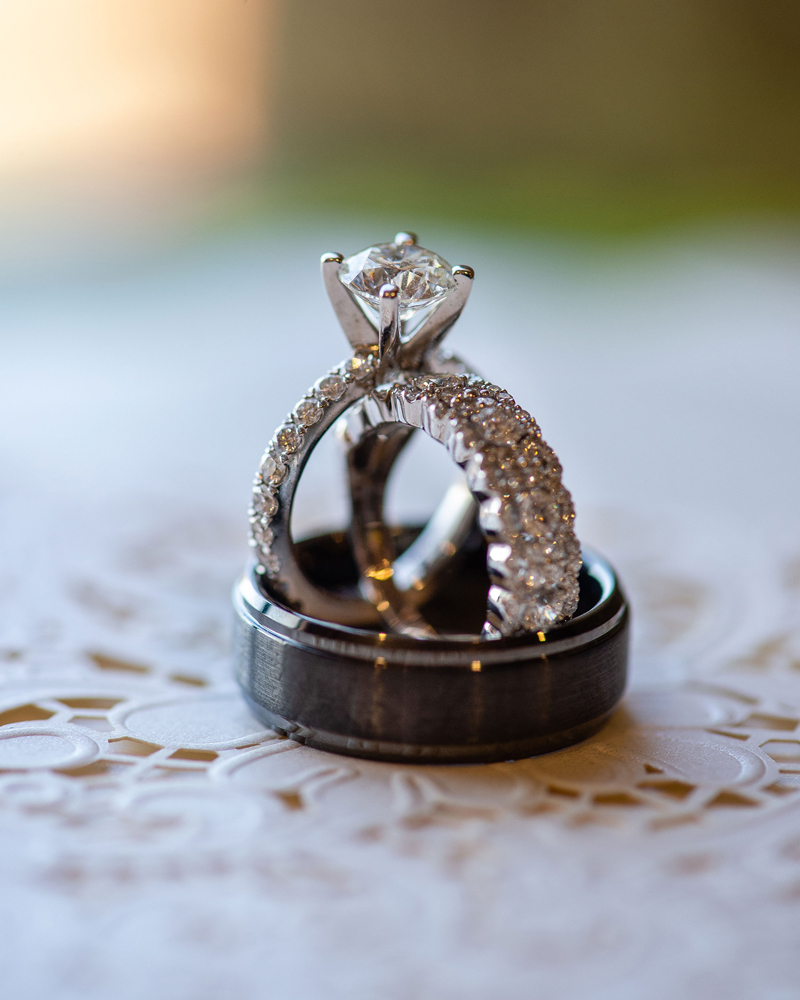 Ring Detail Shot | Klodt Photography | as seen on TodaysBride.com