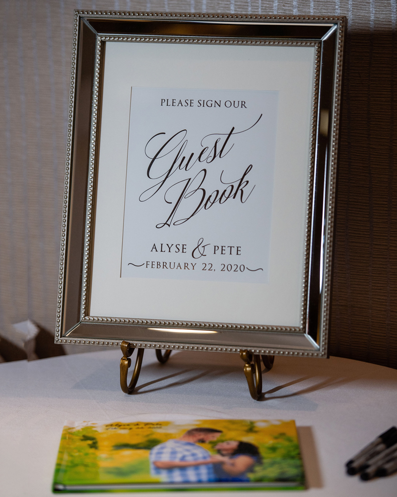 Guest Book Sign | Klodt Photography | as seen on TodaysBride.com