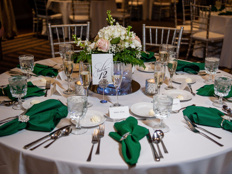 Table Settings | Klodt Photography | as seen on TodaysBride.com