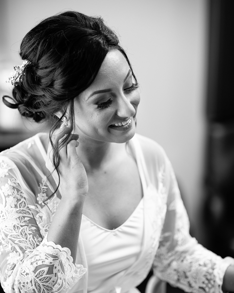 Bride Getting Ready | Klodt Photography | as seen on TodaysBride.com