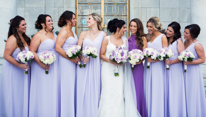 Pastel, Springtime Seasonal Bridesmaid Color Palette | MMG Photography | as seen on TodaysBride.com