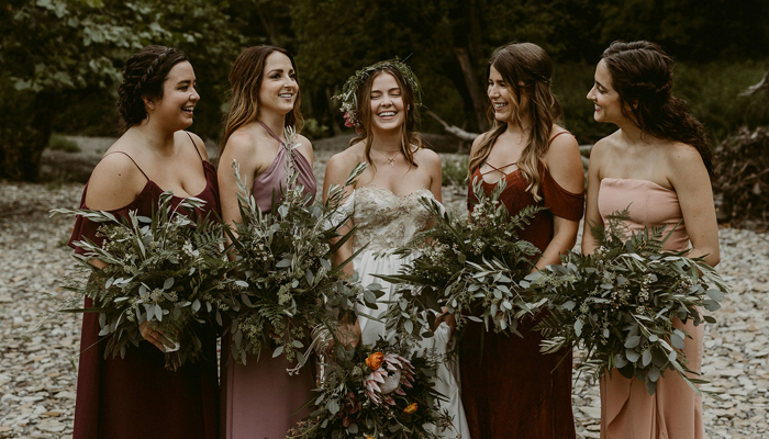 Fall Bridesmaids Dresses | the Heartlanders Co. | as seen on TodaysBride.com