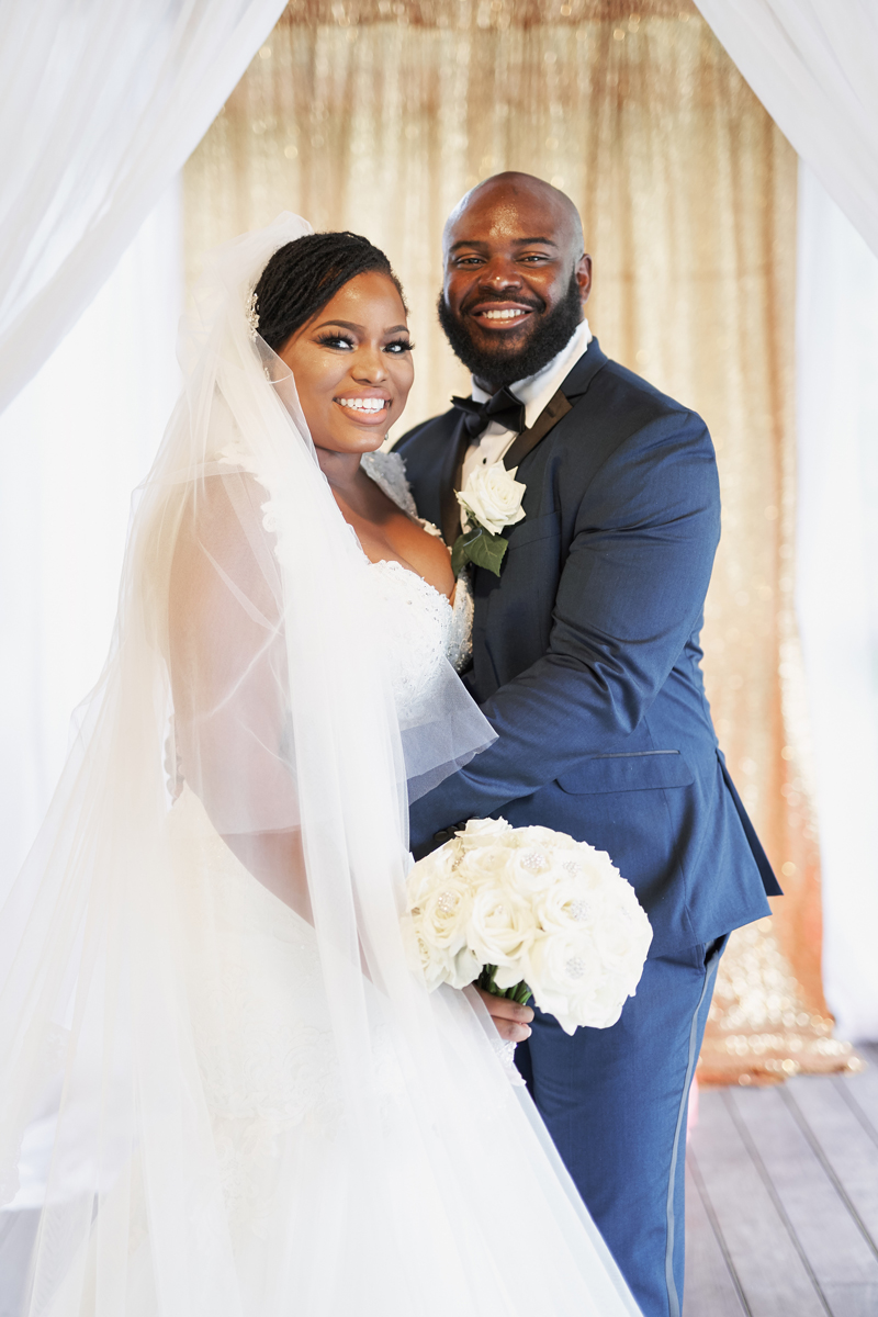 Nicholas Gage Weddings | Bride and Groom | As seen on TodaysBride.com