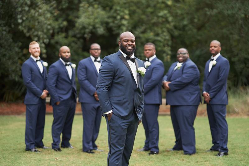 Nicholas Gage Weddings | Groom & Groomsmen | As seen on TodaysBride.com