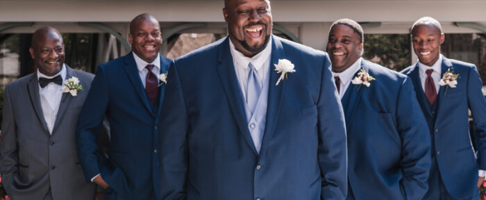 Tips for Dressing a Plus-Size Groom