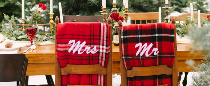 Holiday Wedding Décor
