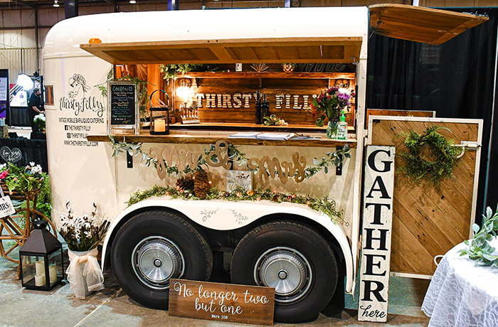 The Thirsty Filly Mobile Bar | March Bridal Show | TodaysBride.com