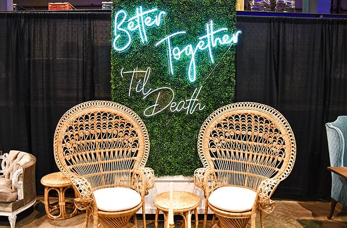 Lavender & Lace Event Rentals | March Bridal Show | TodaysBride.com