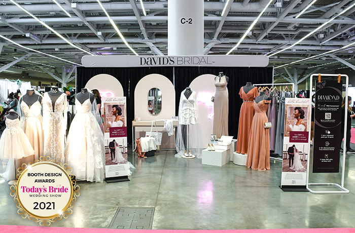 David's Bridal | Bridal Show Booths | TodaysBride.com