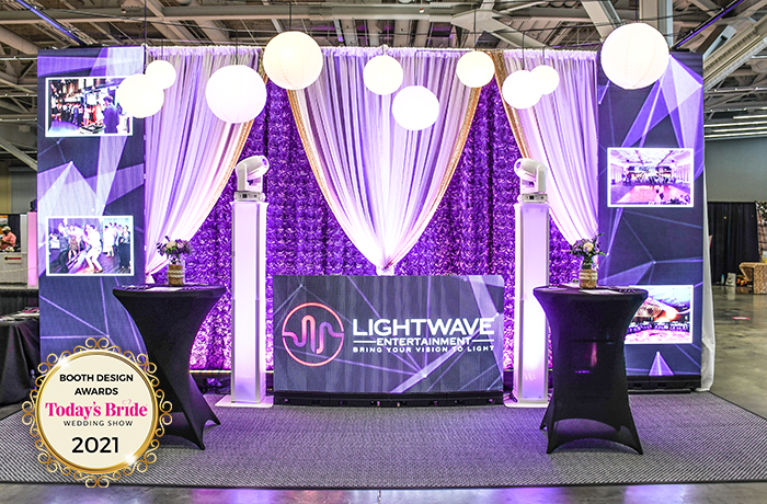 Lightwave Entertainment | Bridal Show Booths | TodaysBride.com